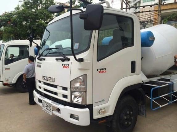 รถโม่ปูน  ขนาดเล็ก 3 คิว ขายด่วน ไกรสร 086-3516797 - Truck2Hand.com
