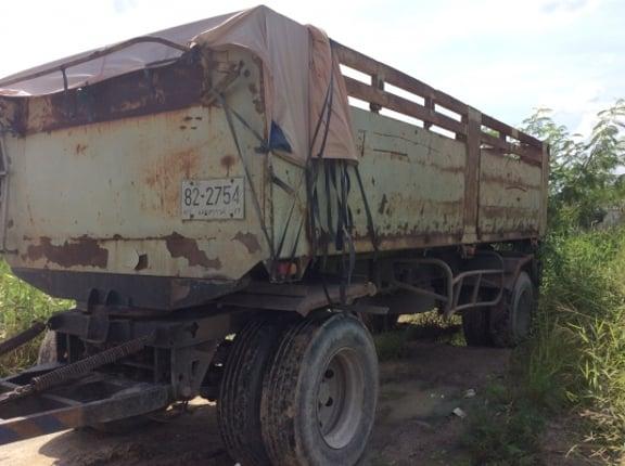 ขายสิบล้อพ่วงดั้ม18ล้อ HINO FM2K 260แรง ติดก๊าซNgv - Truck2Hand.com