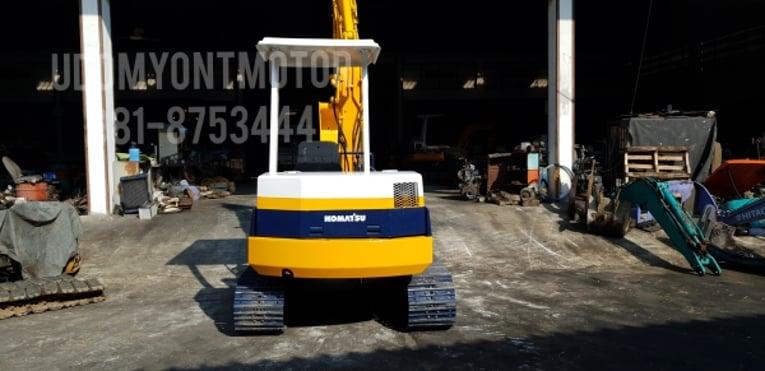 ขาย รถขุด KOMATSU รุ่น PC40-6-มือสองญี่ปุ่น แทรกเหล็ก สลัก บูทเอวแน่น 100\% คันนี้ พร้อมหัวเก๋ง สวยพร้อมใช้งาน มือถือ 0818753444 - Truck2Hand.com