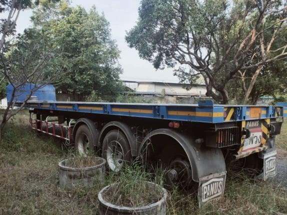 หางพนัส สามเพลา จดทะเบียนปี 2560 - Truck2Hand.com