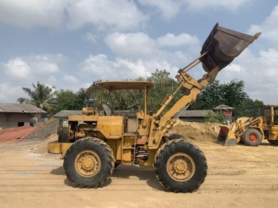 #ลูกค้าฝากขาย#รถตัก CATERPILLAR 910 เครื่องยนต์ 40 Y พร้อมใช้ครับ ติดต่อ 063-9316985 ID LINE : 0639316985 ครับ - Truck2Hand.com
