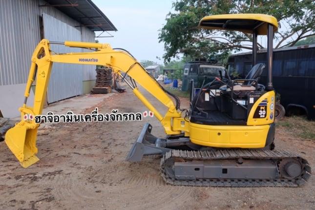 Komatsu pc30mr-2 เก่าญี่ปุ่นไม่เคยใช้ในไทย 086-1602189 - Truck2Hand.com