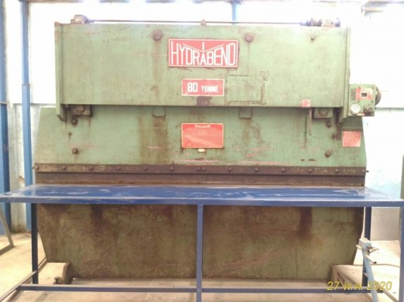 เครื่องพับ เครื่องตัดเหล็กแผ่น มือ 2 สภาพใหม่พร้อมใช้งาน HYDRABEND และ HYDRACUT ผลิตจากออสเตรเลีย - Truck2Hand.com