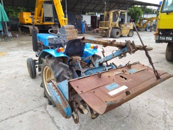 รถพรวนดิน MITSUBISHI D1550  รถนอกนำเข้าไม่เคยใช้งานในไทย สภาพดี ชั่วโมงการทำงาน 750 ชม. - Truck2Hand.com