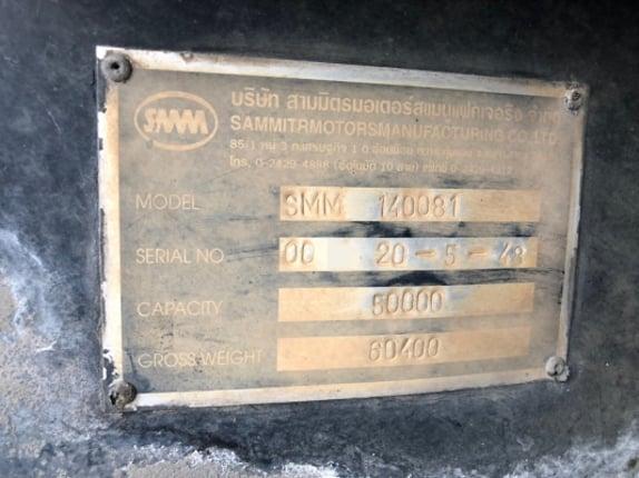 ขายหางเซมิดั้ม3เพลาแท้ SMM 140081 ปี49 สวยเดิม สนใจโทร 081-970-1072 - Truck2Hand.com