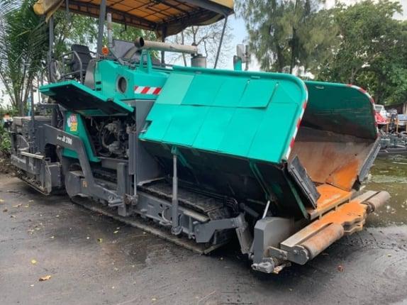 รถปูยาง VOGELE. SUPER 2100 - Truck2Hand.com
