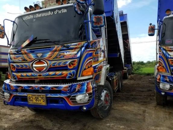 ขาย Hino Victor พ่วงแม่+ลูก ดั๊มมิเนียม ปี59 - Truck2Hand.com