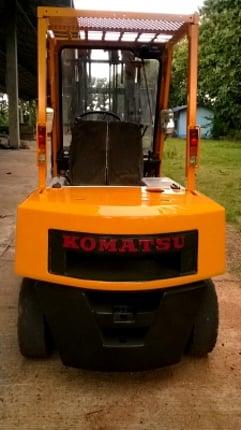FORKLIFT*KOMATSUรุ่น10*2.5ตัน*5587ชม.*ล้อคู้*งาคว่ำ-หงาย*ดีเชล*จากญี่ปุ่น290000*ขายที่โคราช - Truck2Hand.com