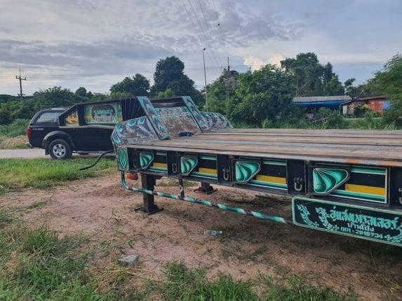 ขาย 475,000  โรเบส 2 คาน  STL อู่แสงเทเลอร์ ปี 57 ยาว 12 เมตร สภาพสวย พร้อม  ยาง 275/80 R22.5 เอกสารเล่มทะเบียน สนใจดูรถ ที่ จังหวัด  อยุธยา.    090-772-3710 090-772-3708 - Truck2Hand.com