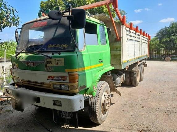 ขาย 385,000 สิบล้อ Hino Z M 500 แม่เดียว 2 เพลาดั้ม ภาษี 64 ติด GPS เรียบร้อย เครื่องHO7C  TURBO เล่มทะเบียนพร้อมโอน  รถอยู่ ขอนแก่น 090-772-3710 090-772-3708 - Truck2Hand.com