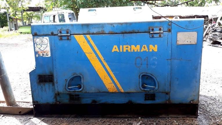 ขายปั้มลม Airman PDR90S 90 cfm 7 บาร์ เก่าญี่ปุ่น สภาพสวยเดิมๆจากนอก 90000 บ. โทร 084-5424150 - Truck2Hand.com