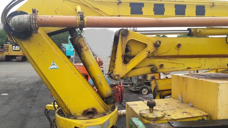 ขายเครื่องปั๊มคอนกรีต KYOKUTO PH65-18 ส่งได้18 เมตร มือสองจากญี่ปุ่น โทร 084-5424150 - Truck2Hand.com