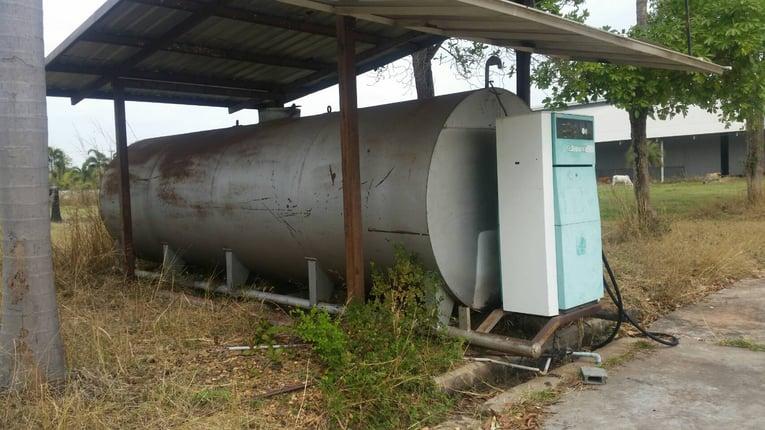 ขายด่วน. ถังน้ำมัน 18000 ลิตร พร้อมหัวจ่าย ติดต่อด่วน 0910617179 - Truck2Hand.com
