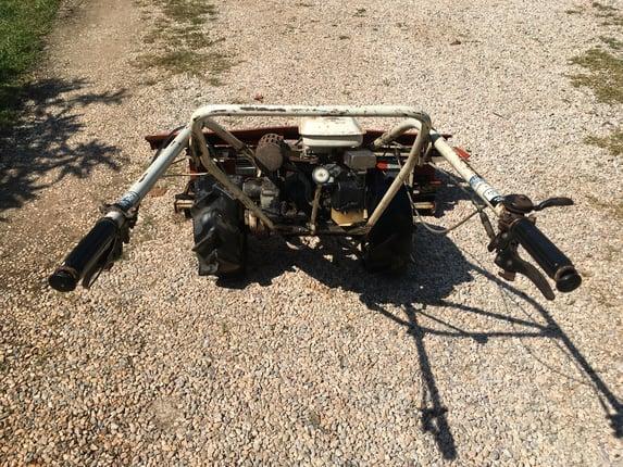 ขายรถเกี่ยวข้าววางรายมือสองKubota AR120L ขนาดใบตัดข้าว1.2เมตรเกี่ยวข้าวแล้วตากเป็นต้นสภาพพร้อมใช้งาน - Truck2Hand.com