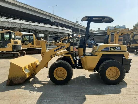 WA30-5 รถตักล้อยาง KOMATSU จากญี่ปุ่น โทร 089-0080077 089-0050007 086-0044333 065-8844400 www.sangenjp.com www.nmc99.com - Truck2Hand.com