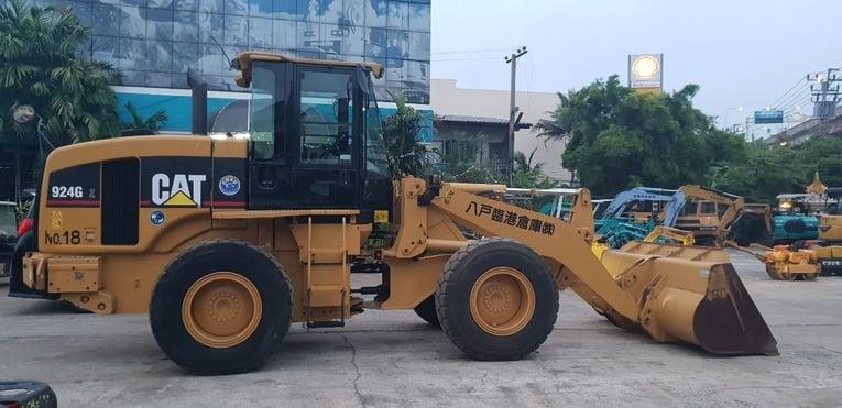924G รถตักล้อยาง CAT จากญี่ปุ่น โทร 089-0080077 089-0050007 086-0044333 065-8844400 www.sangenjp.com www.nmc99.com - Truck2Hand.com