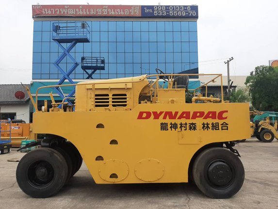 DYNAPAC รถบด 11 ล้อ นำเข้าจากญี่ปุ่น สภาพพร้อมใช้งาน โทร  089-0080077 089-0050007 086-0044333 065-8844400 www.sangenjp.com www.nmc99.com - Truck2Hand.com