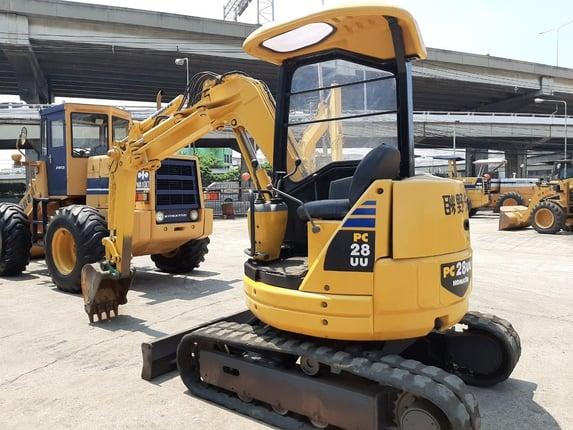 Komatsu PC28UU-2 นำเข้าจากญี่ปุ่น สภาพพร้อมใช้งาน โทร  089-0080077 089-0050007 086-0044333 065-8844400 www.sangenjp.com www.nmc99.com - Truck2Hand.com