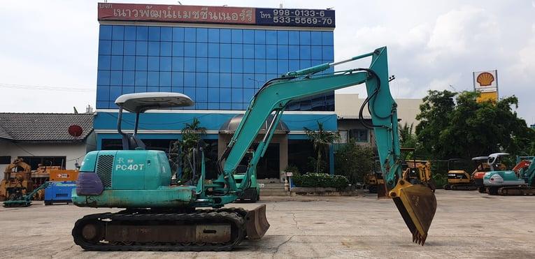 Komatsu PC40T-7 นำเข้าจากญี่ปุ่น สภาพพร้อมใช้งาน โทร  089-0080077 089-0050007 086-0044333 065-8844400 www.sangenjp.com www.nmc99.com - Truck2Hand.com
