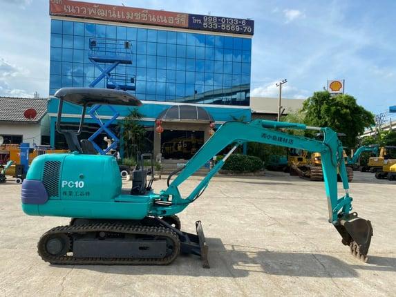 Komatsu PC10-7 นำเข้าจากญี่ปุ่น สภาพพร้อมใช้งาน โทร  089-0080077 089-0050007 086-0044333 065-8844400 www.sangenjp.com www.nmc99.com - Truck2Hand.com