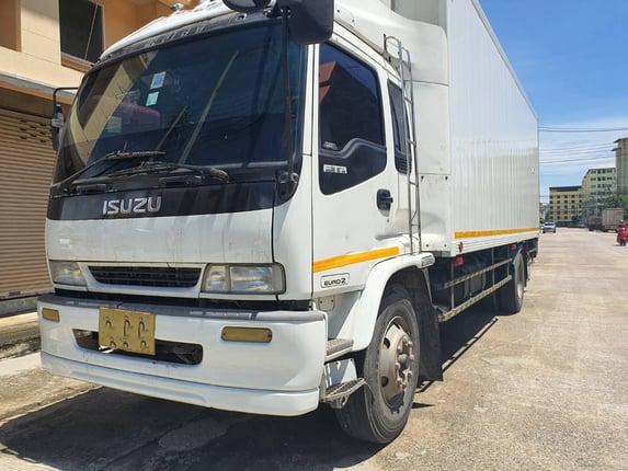 หกล้อตู้เย็นยาว7.20เมตร ISUZU MAXLOADอุณหภูมิ -5c° - Truck2Hand.com