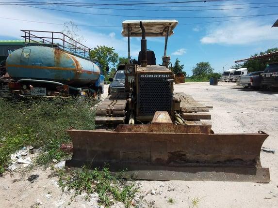 ขายรถมือสอง แทรกเตอร์ตีนตะขาบ KOMATSU - Truck2Hand.com