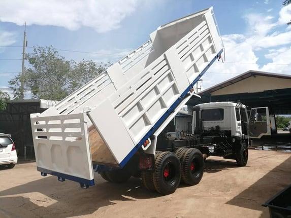 สิบล้อดั้ม หลงเทอร์โบ TF6413  TF220 แรงม้า ปี40   - Truck2Hand.com