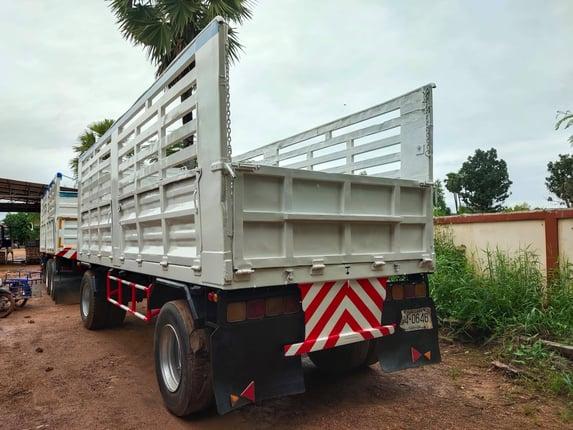 สิบล้อแม่ลูกคอกเกษตรไม่ดั้ม Mitsubishi FN527 TF220 แรง  ปี 46  - Truck2Hand.com