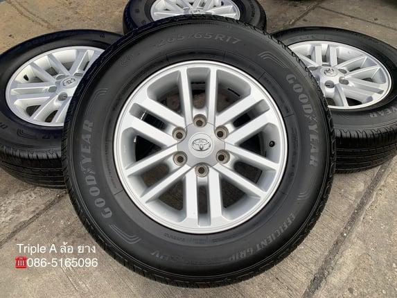 ล้อแม็ก Toyota Fortuner BMC ขอบ17 พร้อมยาง 265-65-17 GoodYear ปี 19 - Truck2Hand.com