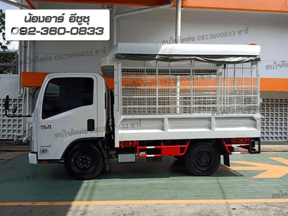 ISUZU NLR 130 กระบะคอกหลังคา - Truck2Hand.com