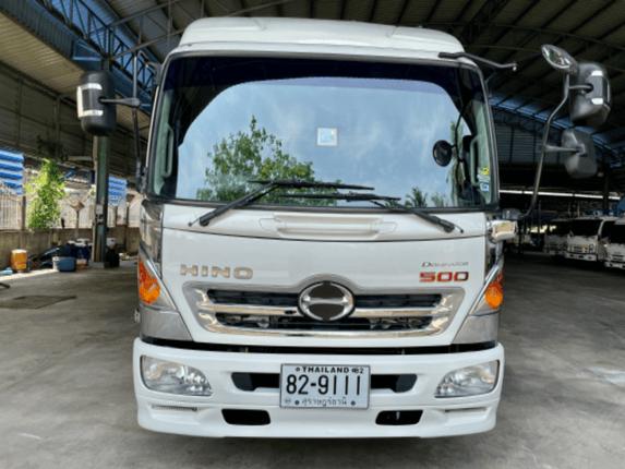 ขาย 6 ล้อ ไมล์น้อย 32,xxx กม. ฮีโน่ Dominator 175 แรง กระบะเหล็กยาว 6.5 ม. ปี 59 สภาพสวยเดิมๆ น้องๆ ป้ายแดง เครื่องแน่น คัสซีสวยทั้งเส้น   สนใจติดต่อ 081-9420141   081-5715326 - Truck2Hand.com