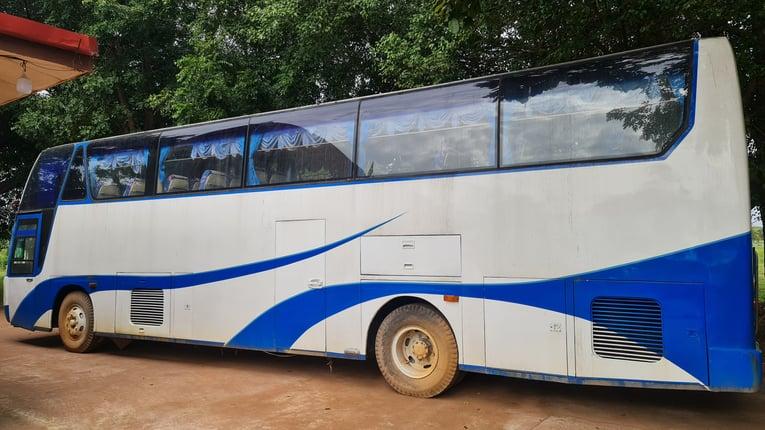 ขาย รถบัส ปรับอากาศ เครื่องแอร์แยก คัสซี HINO ช่วงล่างแหนบเบรคแห้ง เครื่อง ISUZU 10PE1 320 แรงม้า(เลขเครื่องไม่ตรงและไม่มีใบคุมเครื่อง) ทะเบียนแจ้ง ม.79 ราคาคุยกันได้ครับ - Truck2Hand.com