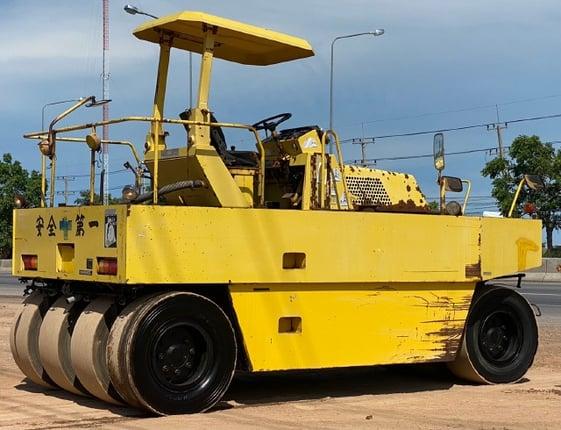ขายรถบด 7 ล้อ SAKAI T600 นำเข้าจากญี่ปุ่น พร้อมใช้ มีVDOการทำงานครับ - Truck2Hand.com