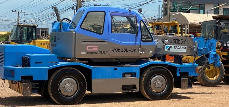 ขายรถเครน TADANO TR100M-1 (ขนาด 10 ตัน) ปี 1999 นำเข้าจากญี่ปุ่น สภาพสวยพร้อมใช้ มีVDOการทำงานครับ - Truck2Hand.com