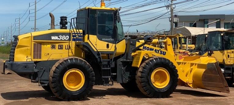 ขายรถตักล้อยาง KOMATSU WA380-7 ปี 2014 นำเข้าจากญี่ปุ่น สภาพสวยพร้อมใช้ มีVDOการทำงานครับ - Truck2Hand.com