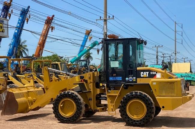 ขายรถตักล้อยาง CAT 910H ปี 2013 แขนยาวพิเศษ นำเข้าจากญี่ปุ่น พร้อมใช้ มีVDOการทำงานครับ - Truck2Hand.com