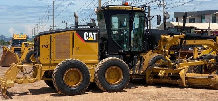 ขายรถเกรด CAT 140M นำเข้าจากญี่ปุ่น พร้อมใช้ มีVDOการทำงานครับ - Truck2Hand.com