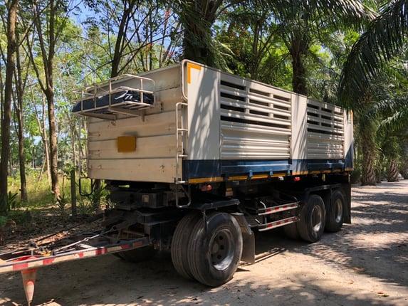 ขายดาวรถ22ล้อดั้ม ISUZU 360แรงม้ากับหางSMMปี62 สนใจโทร 081-970-1072 - Truck2Hand.com
