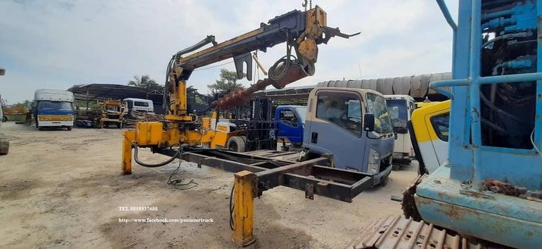 SALE*เครนแท่นสว่าน รุ่นใหม่ *FROM KOREA TRUCK MOUNTED CRANE SOOSAN -SAC313  ยี่ห้อ: ซูซาน ขนาด 3.3ตัน /3ปลอก2ชัก - Truck2Hand.com