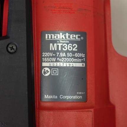 ราวเตอร์ เครื่องฉลุลายไม้ Maktec รุ่น MT362 ใหม่ล่าสุด มือสอง ของแท้ สภาพใหม่ - Truck2Hand.com