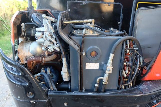Kubota kx91-3s2 สวยมาก สีเดิม ช่วงล่างไหม่หมด เล่มทะเบียน 086-1602189 - Truck2Hand.com