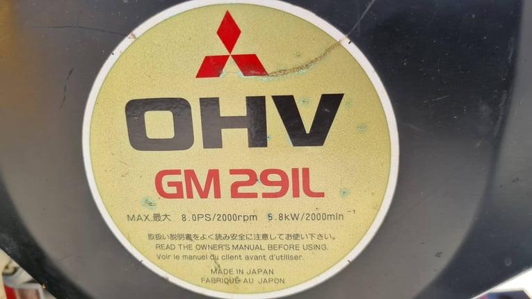 ขาย รถตัดหญ้า เครื่องตัดหญ้า ใบวาย MITSUBISHI ขนาด 8 แรง เบนซิน 4 จังหวะ เก่าญี่ปุ่นแท้ สภาพสวย ตัดหญ้าสูง ต่ำได้ มีเกียร์เดินหน้า ถอยหลัง  พร้อมใช้  - Truck2Hand.com