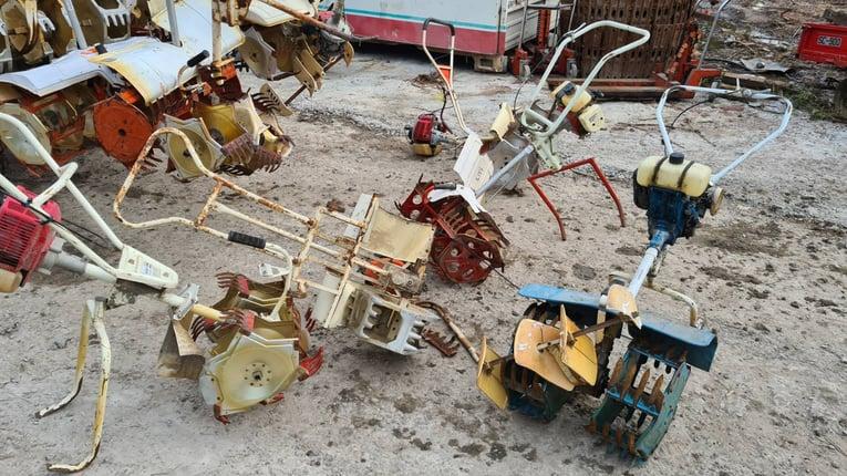 ขาย เครื่องกำจัดวัชพืช ในร่องนาข้าว เก่าญี่ปุ่น จำนวนมาก ราคาตัวละ 14,000 บาท ตรวจเช๊คให้พร้อมใช้งาน - Truck2Hand.com