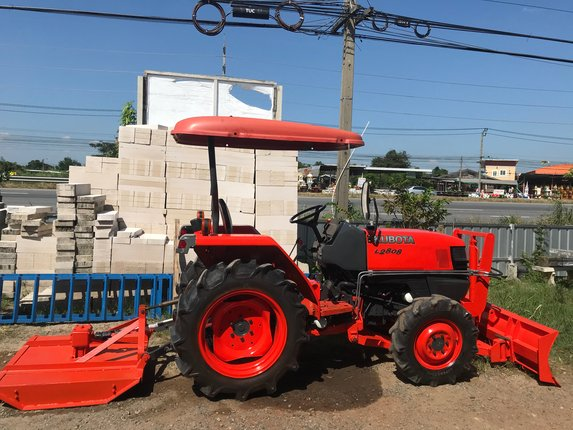 ขายรถสวย พร้อมใช้คูโบต้าL2808 - Truck2Hand.com