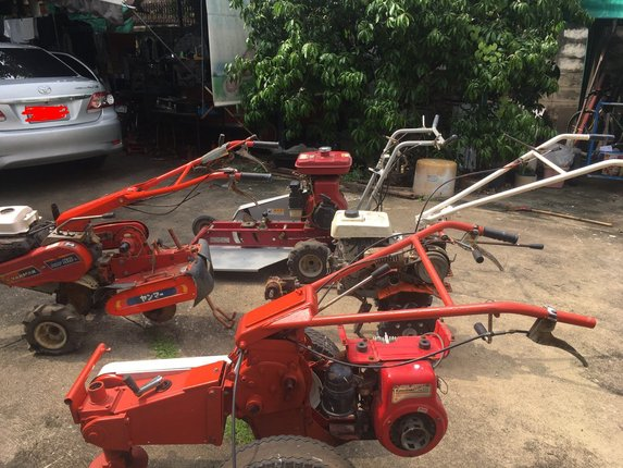 ขายรถตัดหญ้า รถพรวนดิน - Truck2Hand.com