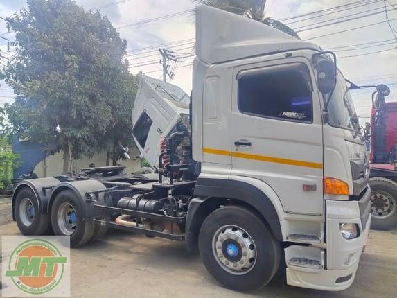 HINO FM1A344 ปี59 วิกเตอร์สิบล้อหัวลากสองเพลา - Truck2Hand.com