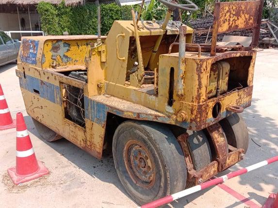 09/03/64.ขายรถบดล้อยาง ยางเพิ่งเปลี่ยนใหม่ขายตามสภาพ - Truck2Hand.com