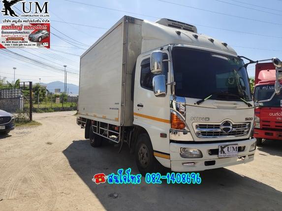 ⭐⭐⭐ขาย Hino FC9J ปี 60 หกล้อตู้เย็น ติดลบ-5องศา โทร 082-1408696 ค่ะ - Truck2Hand.com