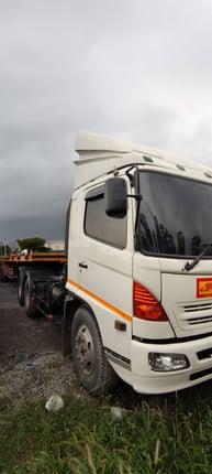 🚚 หัวลาก HINO FM1 260 แรงม้า ปี47 พร้อมหางพื้นเรียบ รถวิ่งงานอยู่ทุกวัน 🚚 - Truck2Hand.com