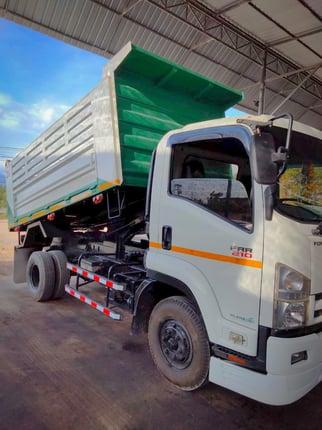 🚚 6 ล้อดั้ม ISUZU FRR90HSXXS 210 แรงม้า ปี 2016 พร้อมวิ่งงานครับ 🚚 - Truck2Hand.com